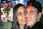 Romantik erkek: Mesut Özil