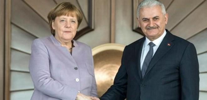 Merkel-Yıldırım buluşması