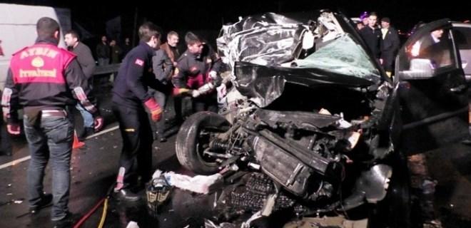 Aydın'da katliam gibi kaza: 3 ölü, 6 yaralı!