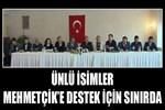 Ünlü isimler Mehmetçik'e destek için sınırda!