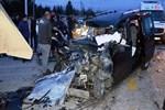 Ankara'da dehşete düşüren trafik kazası!