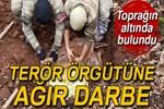 Tunceli'de 4 sığınak imha edildi!