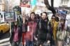 Ankara'da, Bağımsız Hayvan Hakları Topluluğu üyeleri, Türkiye'ye Brezilya'dan ithal edilen...