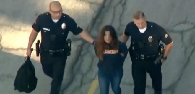 Kız öğrenci dehşet saçtı: 5 yaralı