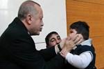 Küçük Yağız, Cumhurbaşkanı Erdoğan'la buluştu