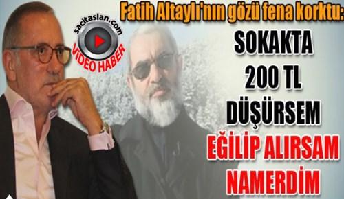 Nurettin Yıldız'ın asansör fetvası Fatih Altaylı'yı korkuttu