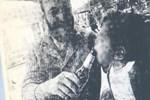 14 aylık kızlarına alkol veren çifte dava!