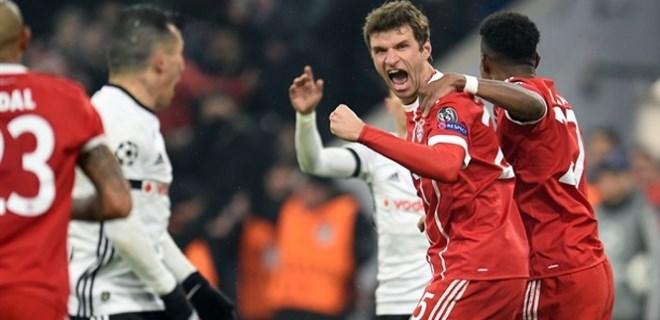Bayern Münih: 5 - Beşiktaş: 0