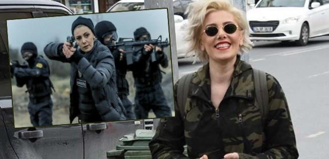 Polisler, Burcu Binici'yi duygulandırdı