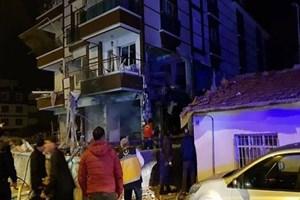 Kırıkkale'de doğalgaz patladı!