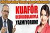 Hürriyet gazetesi yazarı Abdulkadir Selvi, ile Habertürk gazetesi yazarı Sevilay Yılman arasında...