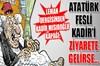Karikatür dergisi Leman, Kadir Mısırlıoğlu'nu kapağına taşıdı.
