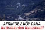 Afrin'de Ebu Kab ve Hacılar köyü teröristlerden temizlendi