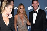 Mariah Carey'in boynundaki servet!