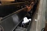 Metroda yürüyen merdiven kazası!