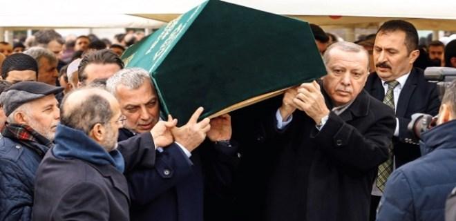 Cumhurbaşkanı Erdoğan'dan eski dosta son görev