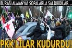Almanya'da PKK destekçileri Türk vatandaşına saldırdı