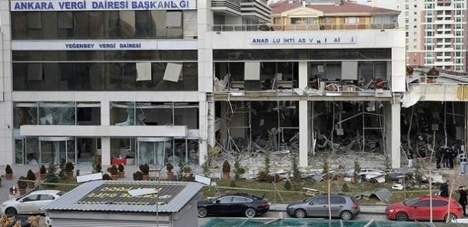 Vergi dairesi bombacısı PYD'li ölü ele geçirildi