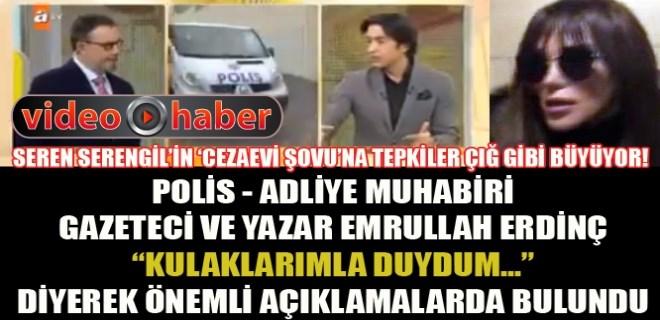 Emrullah Erdinç'ten ses getiren Seren Serengil açıklaması