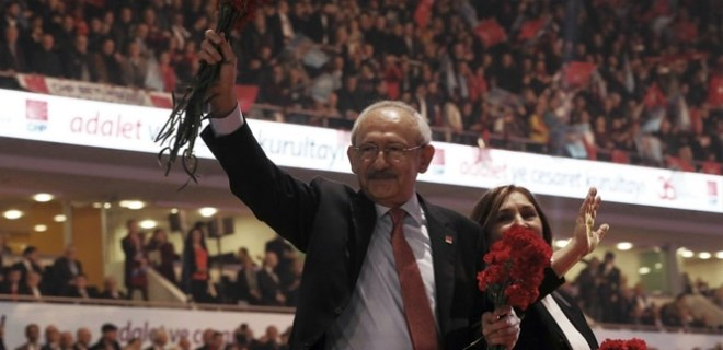 CHP Kurultayı'nın galibi Kemal Kılıçdaroğlu oldu