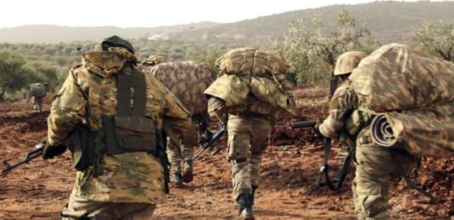 Afrin'de yeni hedef 1027 rakımlı tepe