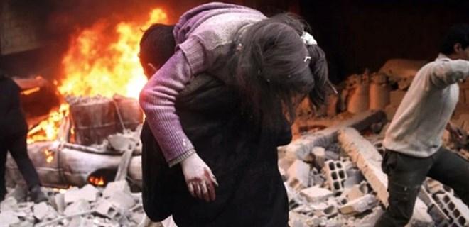 ABD Rakka'da sivilleri böyle vurdu!
