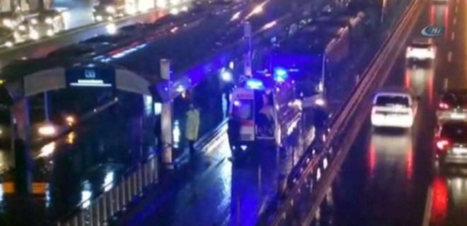 İBB'den metrobüs kazası açıklaması!