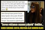 Seren Serengil sosyal medyada alay konusu oldu!