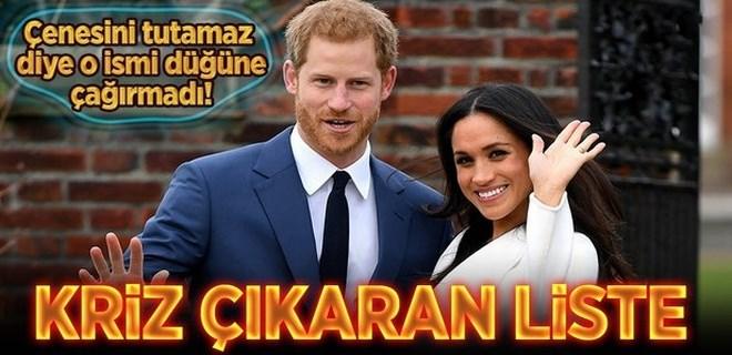 Prens Harry 'o ismi' düğününe çağırmadı!