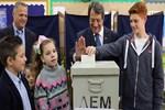 Güney Kıbrıs'ta seçimin galibi Nikos Anastasiadis oldu