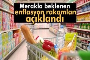 Enflasyon rakamları açıklandı!