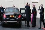 Cumhurbaşkanı Erdoğan Vatikan'da