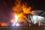 Kocaeli'nde dev parfüm fabrikası yangını!