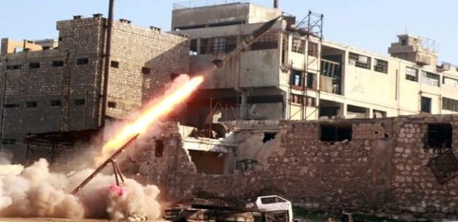 Esad yanlısı güçlerden PYD/PKK 'karargahına' saldırı!