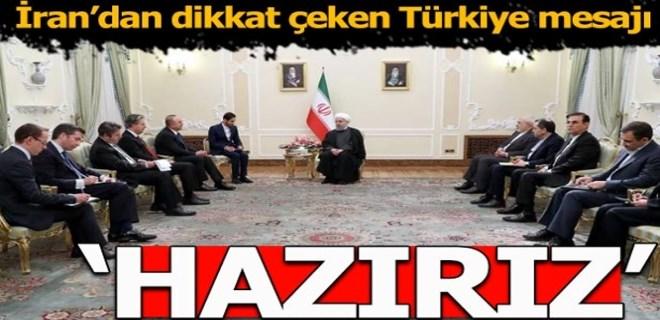 İran'dan çok kritik Türkiye mesajı: