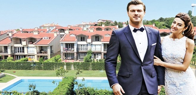 Kıvanç Tatlıtuğ ve Başar Dizer villa kiraladı