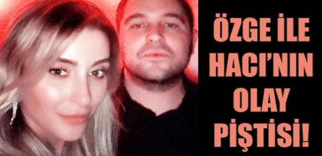 Özge Ulusoy'la Hacı Sabancı pişti oldu!