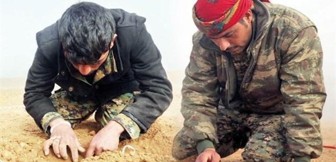 ABD'den PKK'lı teröristlere bomba eğitimi