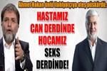 Ahmet Hakan ünlü ilahiyatçıya ateş püskürdü!