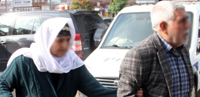 81 yaşındaki kadın gözaltına alındı!