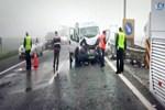 TEM'de feci kaza: 1 ölü!