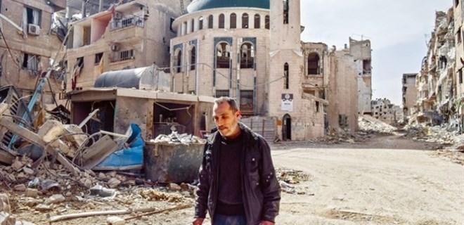 Doğu Guta'daki camide ezanlar susmadı