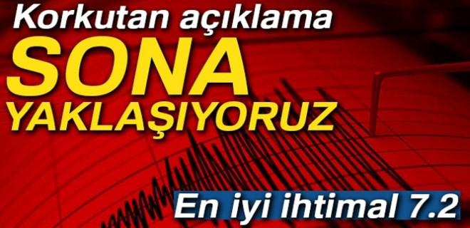 Marmara depremiyle ilgili endişelendiren açıklamalar