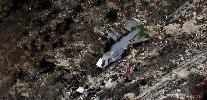 Feci uçak kazasına ilişkin ilk fotoğraflar!