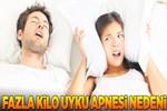Fazla kilo uyku apnesi nedeni