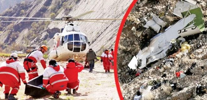 İran'dan düşen Türk uçağıyla ilgili flaş açıklama!