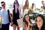 Adriana Lima, Metin Hara'yı ailesiyle tanıştırdı