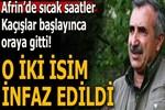 PKK, Afrin'den kaçan sözde 2 komutanını infaz etti!