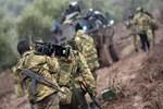 Özel eğitilmiş 400 asker Afrin'e doğru yola çıktı