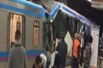 İstanbul'da tramvaylar çarpıştı!